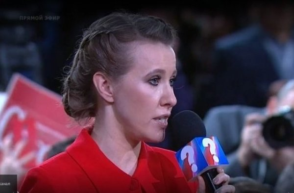 Собчак: Путин обратил внимание на моё красное платье