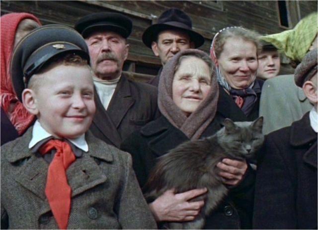 Советские люди в 1956 году