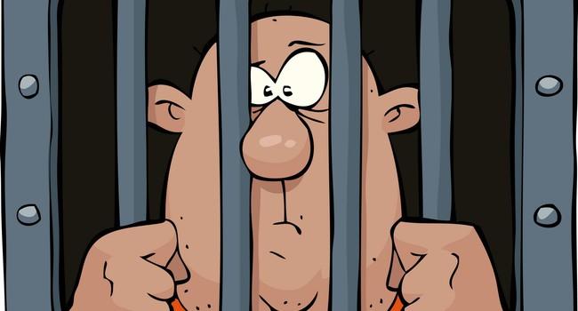 Мимо тюрьмы идет молодая девушка. Голос из окна:
