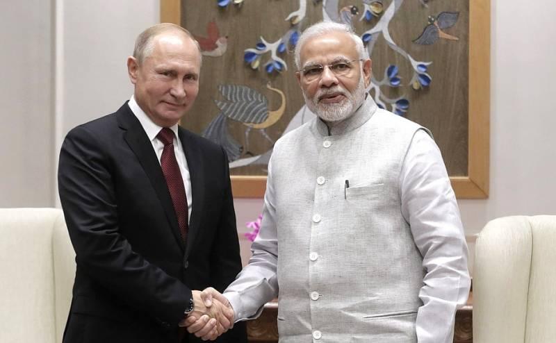 Россия и Индия подписали кон…