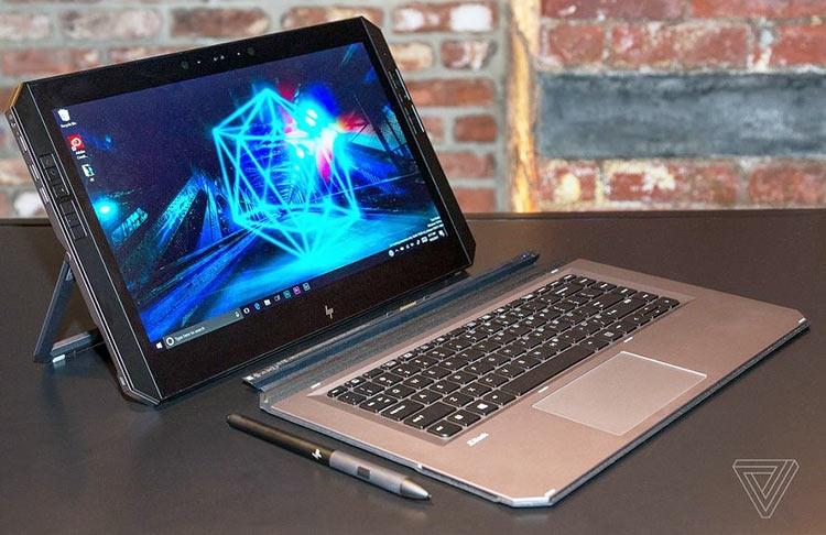 HP создала сверхмощный планшет для художников ZBook x2