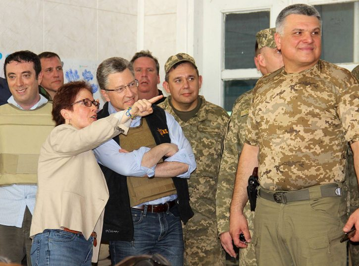 На Донбассе нет места койотам.
