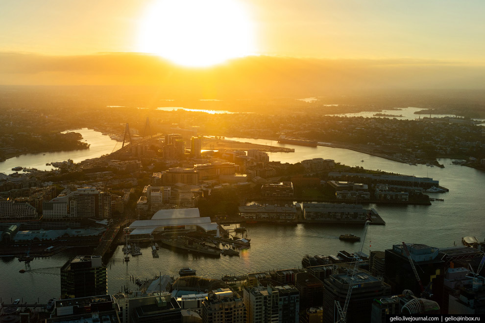 Darling Harbour — современный район