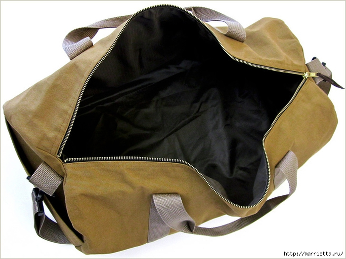 Как сшить спортивную сумку. Мастер-класс (47) (700x525, 226Kb)
