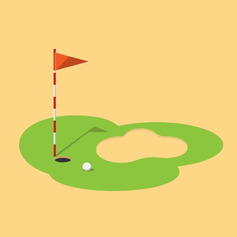Анекдот о двух джентльменах и траурной процессии на поле для гольфа
