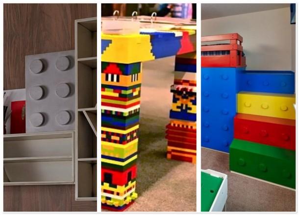 Лего мебель вернет в детство