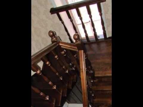 Лестница из массива берёзы. Вызов на замер по тел.+7(3852) 533-977 Евгений