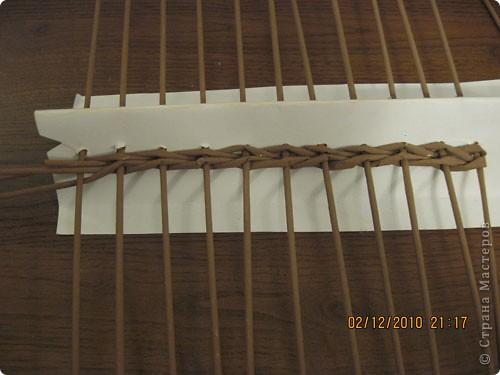Мастер-класс,  Плетение, : Плетение квадратной (прямоугольной ) коробки Бумага газетная . Фото 8