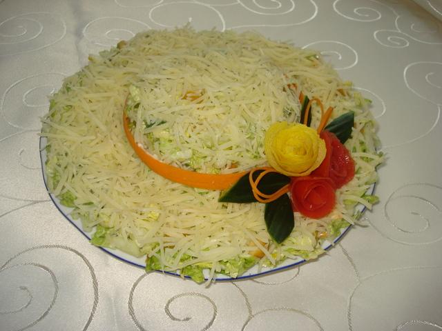 Рецепт салата и дамская шляпка