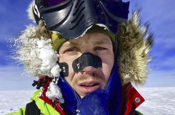 Впервые в истории человек в одиночку пересек Антарктиду