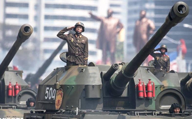 В КНДР прошло масштабное артиллерийское учение
