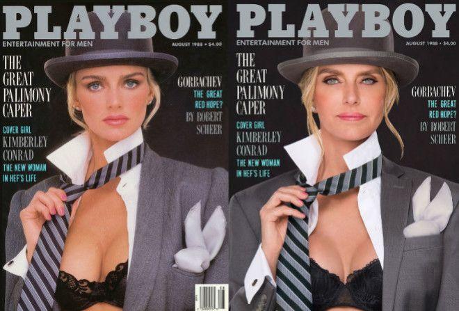 PlayBoy воссоздал свой журнал 30 лет спустя, с теми же моделями.