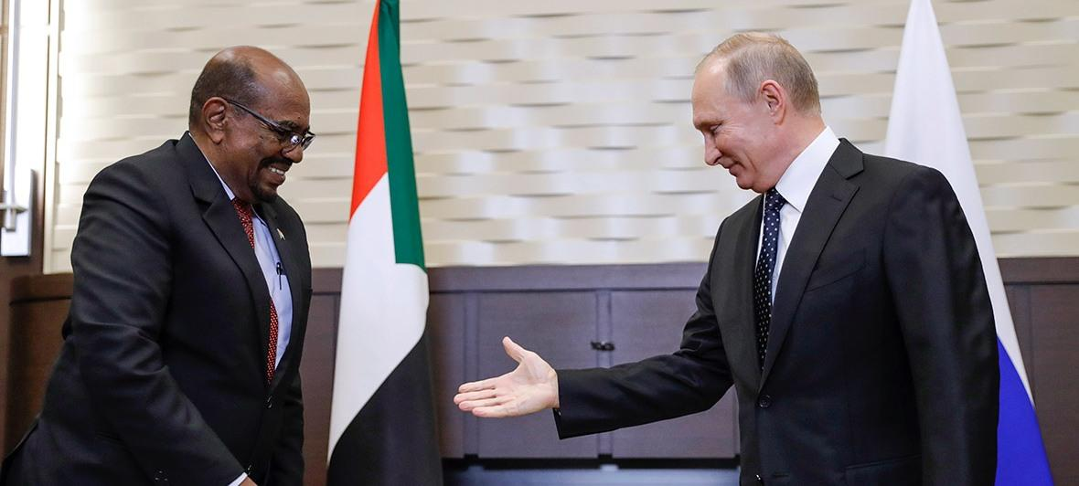 Президент Судана попросил Путина спасти Африку от США