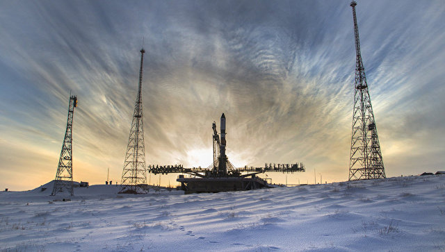"""Источник назвал возможное время запуска ракеты """"Союз-2.1а"""""""