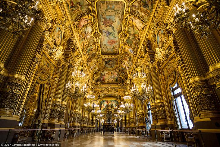 Самый красивый оперный театр в мире — Парижская опера Шарля Гарнье