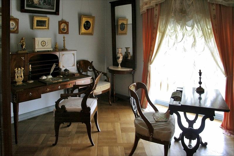 Французский интерьер 19 века в