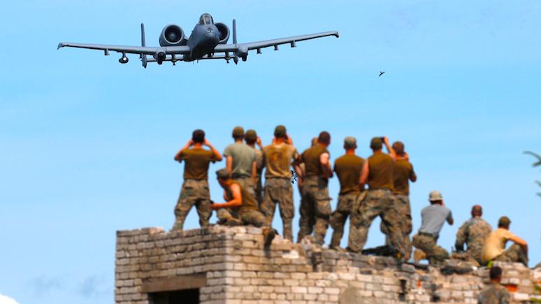 Камуфляж, туалеты и ноутбуки: GW рассказала об учениях НАТО по отражению «российской агрессии»