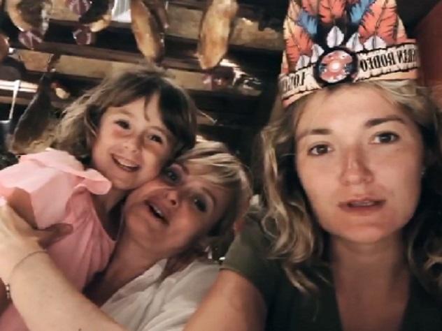 Анна Михалкова впервые показала, как выглядит ее пятилетняя дочь