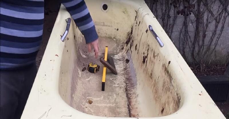 Не спеши выбрасывать старую ванну! Ты ахнешь от изумления, увидев, как ее можно использовать!