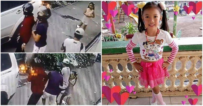 8-летняя девочка напала на вооруженных грабителей, защищая семью