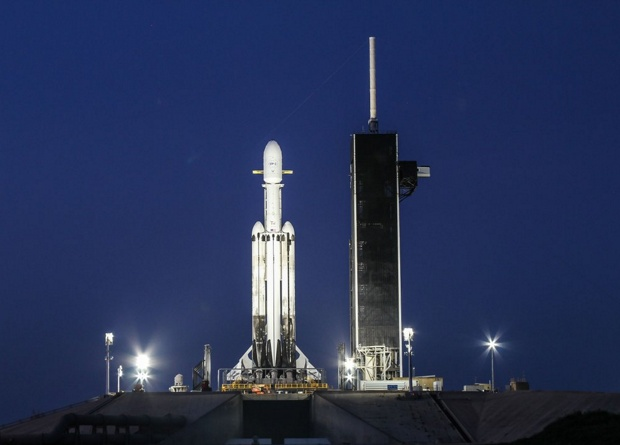 Falcon Heavy запустила солне…