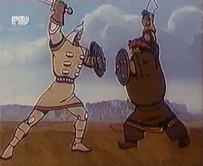 Мультфильм - Сказ о Евпатии Коловрате (1985г.)