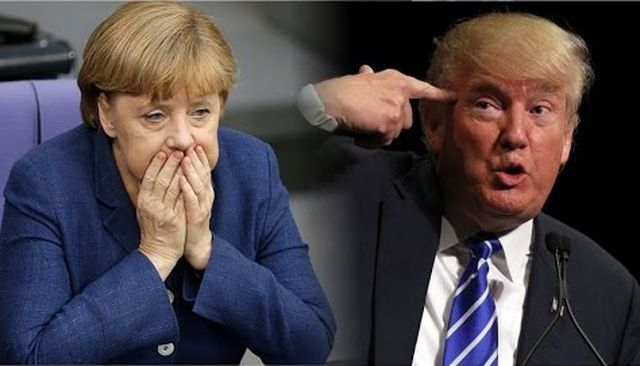 Канцлер Германии Меркель недовольна президентом США