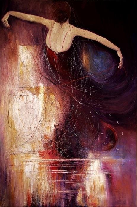 Танец. Автор: Justyna Kopania.