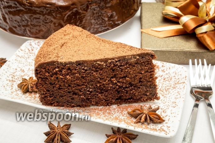 Пирог с глазурью рецепт с фото пошагово
