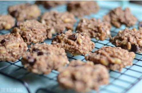 Печенье из ДВУХ компонентов — банана и овсянки