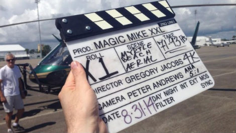 Filming begins on Magic Mike XXL
