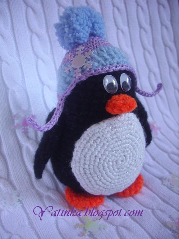 Как связать пингвиненка
