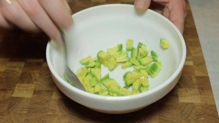 Тартар из тунца и авокадо Еда, Рецепт, Длиннопост, Тартар, Видео, Тунец, Авокадо