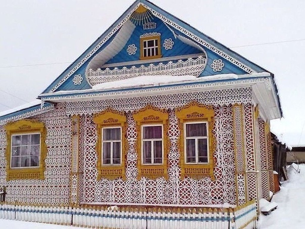 Русский домик