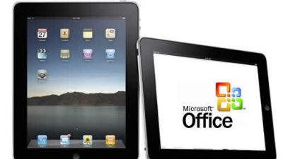 MS Office для iPad выйдет в первой половине 2014-го
