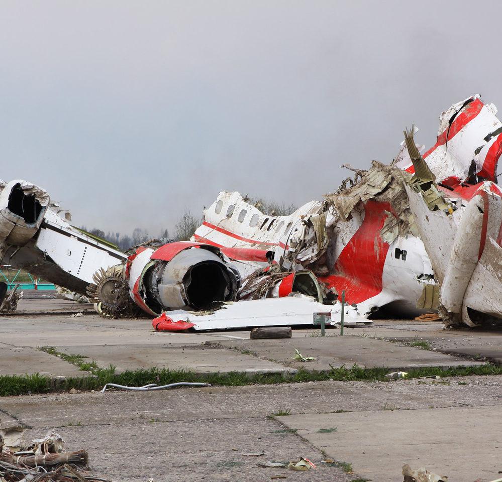 Следы взрывчатки на Ту-154 д…