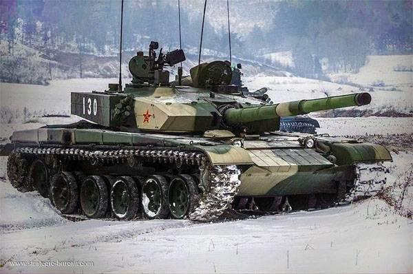 """Китайский танкист: С танком Тype99A2 сможет конкурировать только Т-14 """"Армата"""""""