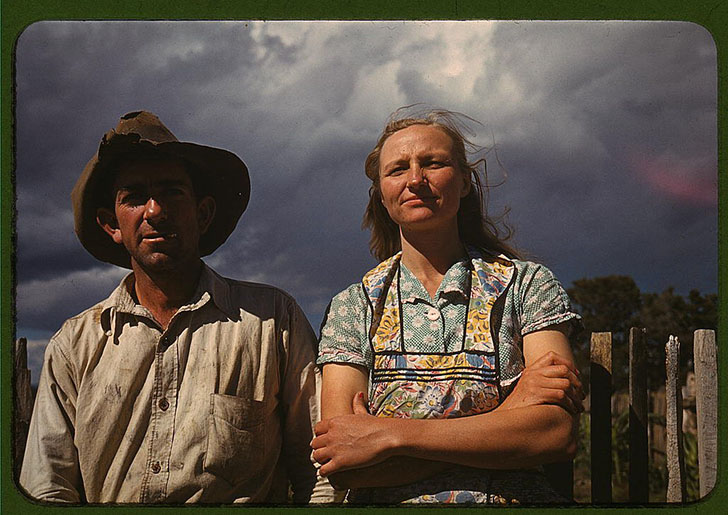 Исторические кадры американцев во времена Великой депрессии