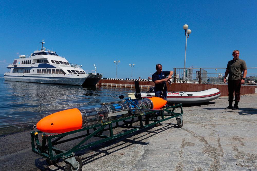 Что показали соревнования по морской робототехнике