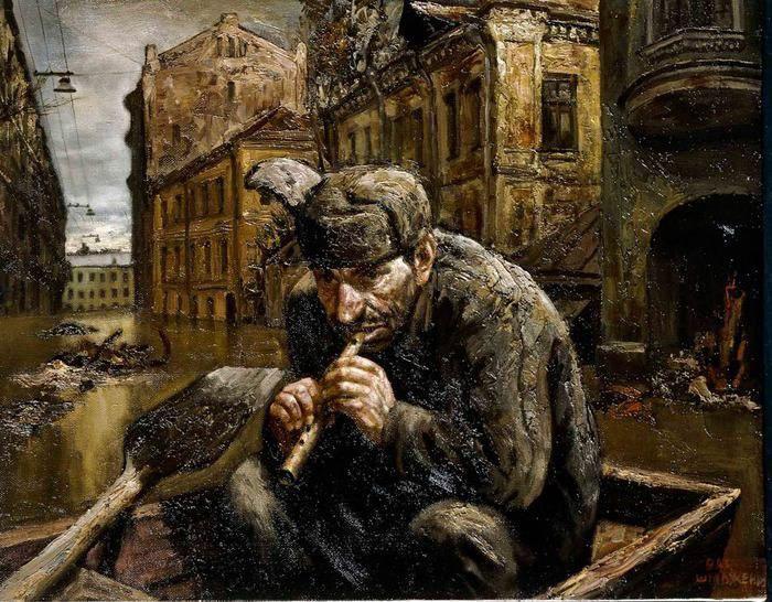 Скандальные картины Василия Шульженко о россиянах и российской глубинке