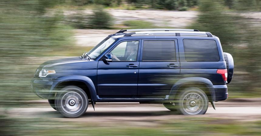 Обновленный УАЗ «Патриот»: подробности и цены