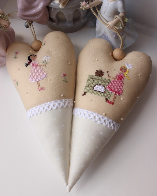 Текстильные сердечки от Юлия Schilles (14) (513x640, 149Kb)