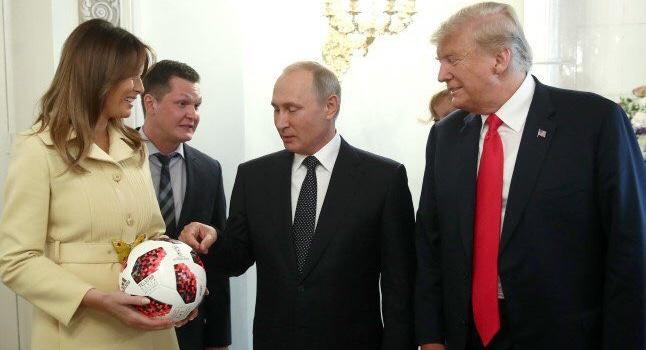После встречи с Путиным Мела…
