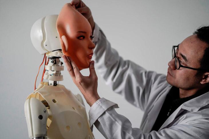 Секс-роботы из Китая