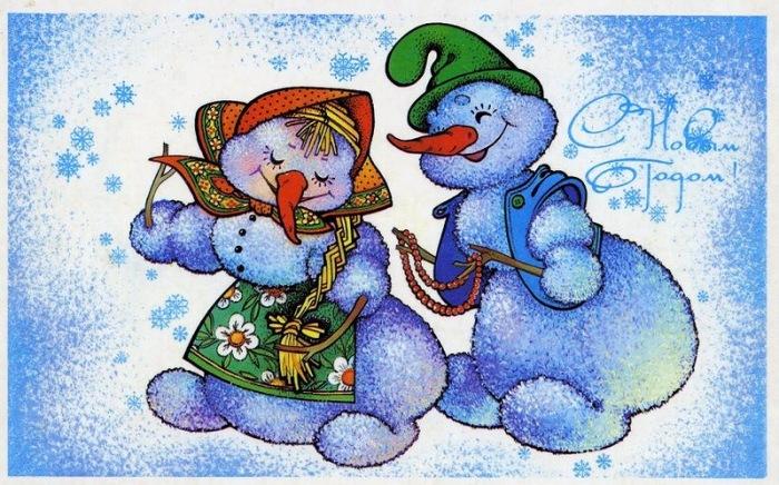 Снежный герой: как появились снеговики