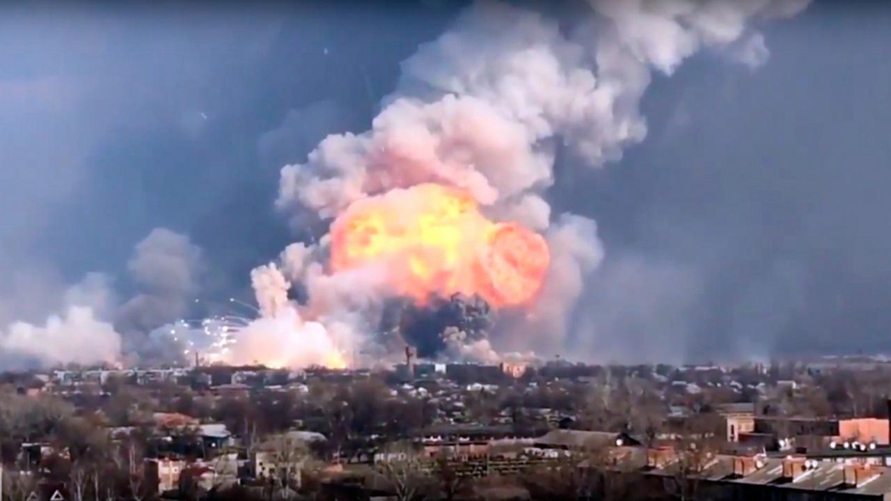 Пожары на артскладах как сдерживающий фактор агрессивности Украины