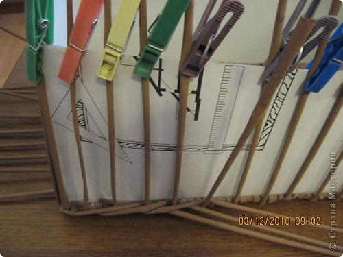 Мастер-класс,  Плетение, : Плетение квадратной (прямоугольной ) коробки Бумага газетная . Фото 22