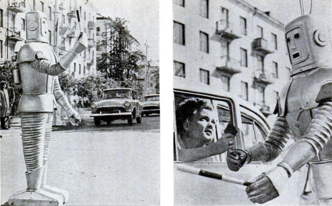 Кто бы подумал: советский робот-регулировщик 1967 года