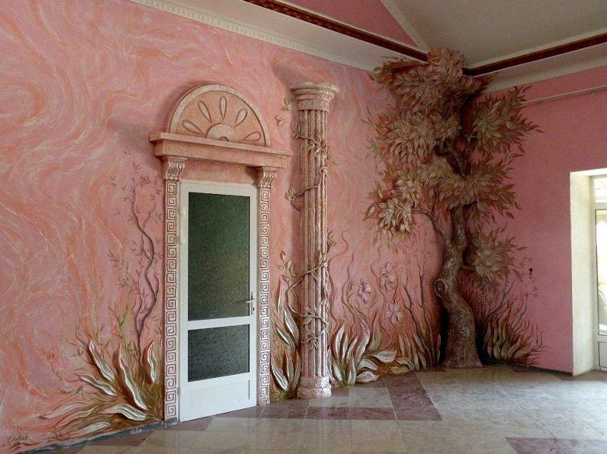 Отделка стен - настоящее искусство