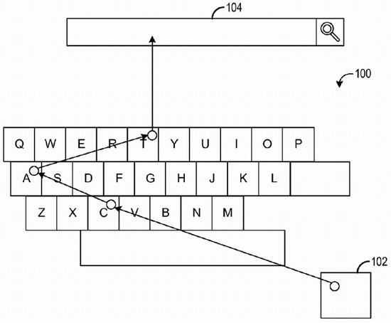 виртуальная клавиатура Microsoft